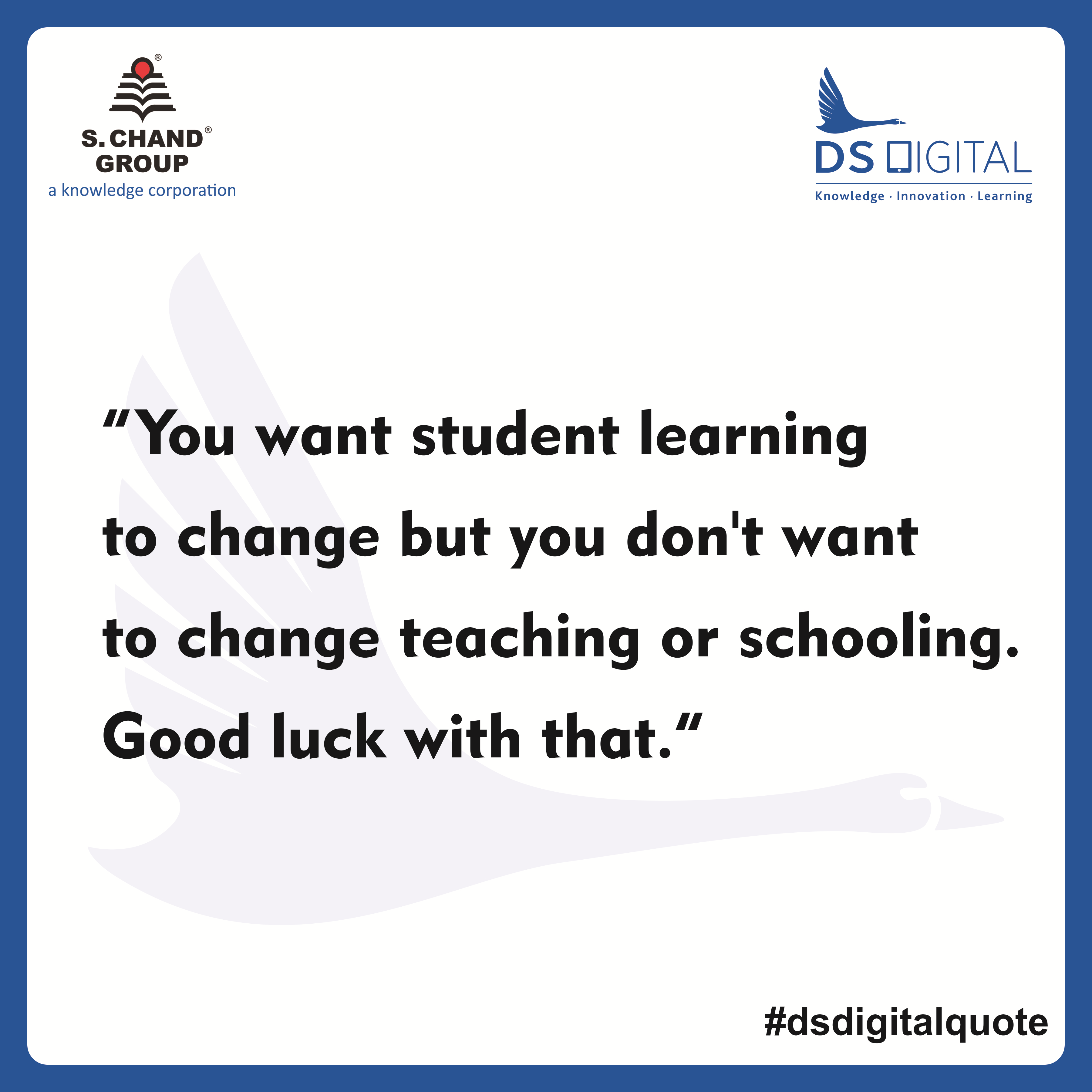 DS Digital Education Quote